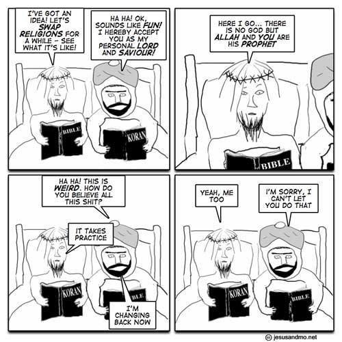 Apostasy - Jesus & Mo